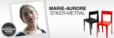 interview marie aurore stiker metral de la philosophie au design ateliers de paris. Black Bedroom Furniture Sets. Home Design Ideas
