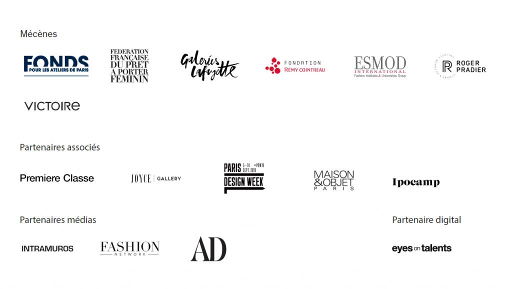 Logos des partenaires des grands prix