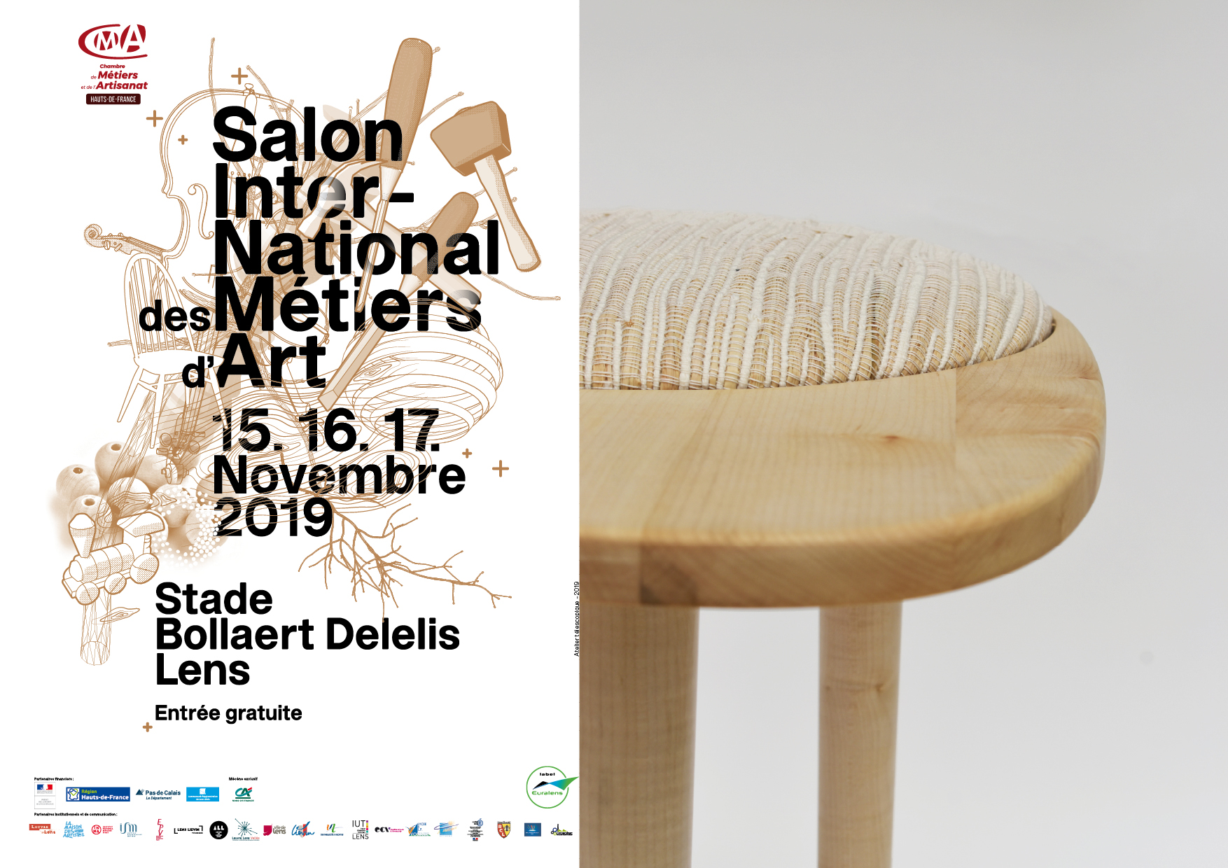 Charlotte Kauffman et Morgan Ratton au Salon International des Métiers d'Arts