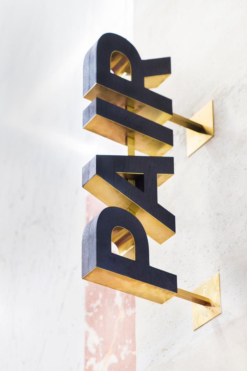 La signalétique du Théâtre du Châtelet par Elodie Stephan