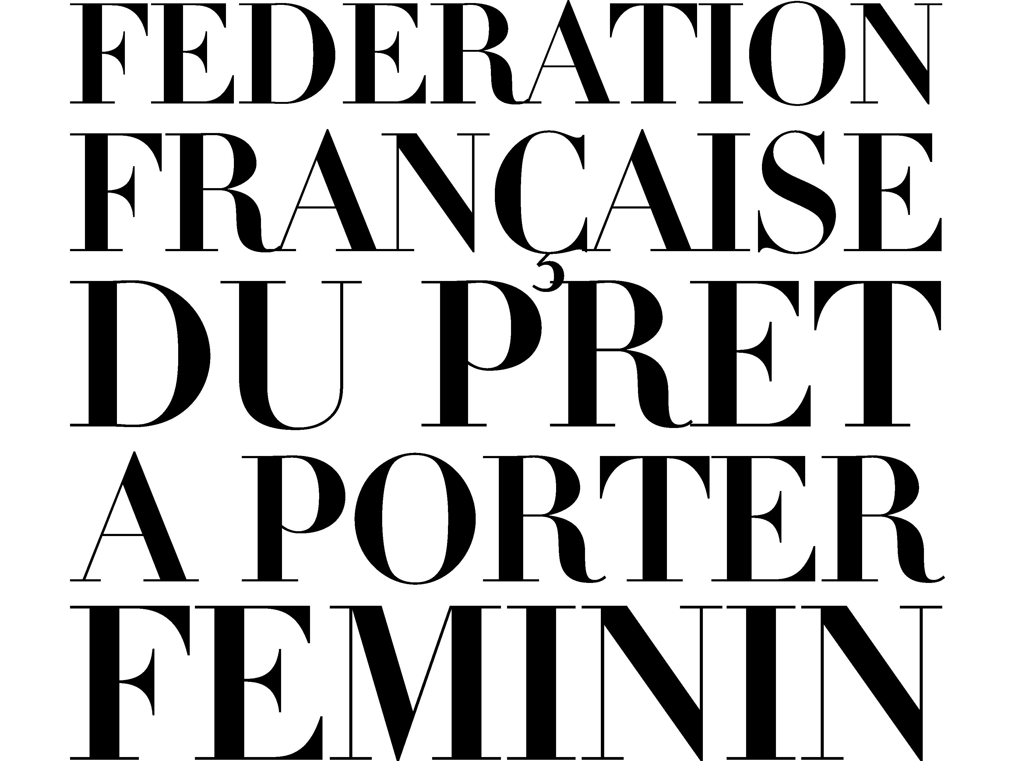 Logo Fédération française du prêt-à-porter féminin