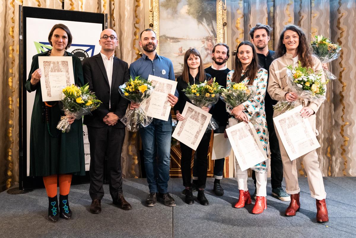 Les lauréats des Grands Prix de la Création 2019 © Matthieu Gauchet