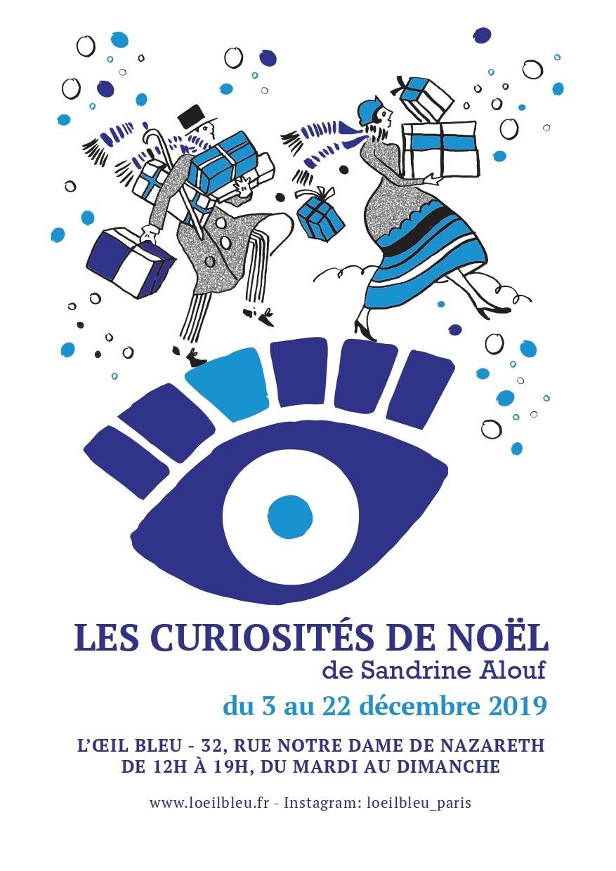 Cécile Chareyron à l4oeil Bleu en décembre 2019