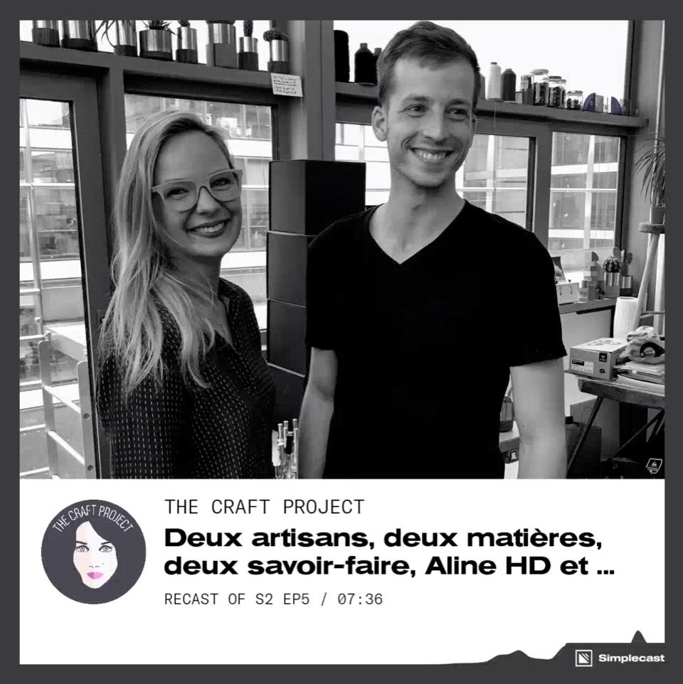 """Aline HD et Clément Demarson dans """"The Craft Project"""""""