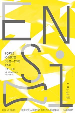 Portes ouvertes Ensci Les Ateliers 2020