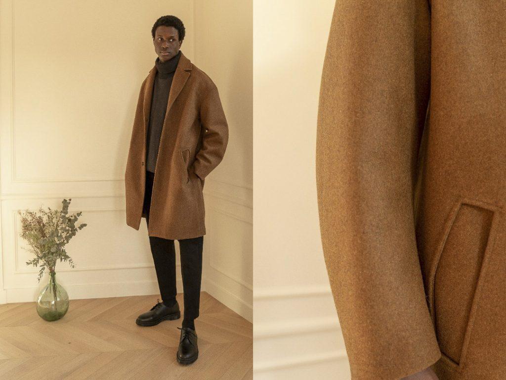 Manteau Fenté par Coltesse