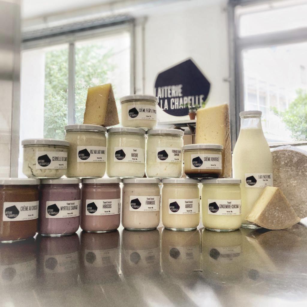 Produits laitiers par Laiterie la Chapelle