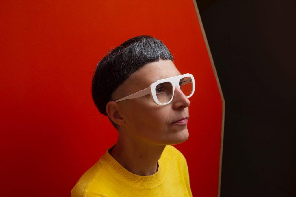 Portrait de matali crasset, présidente du jury Design, © Julien Jouanjus