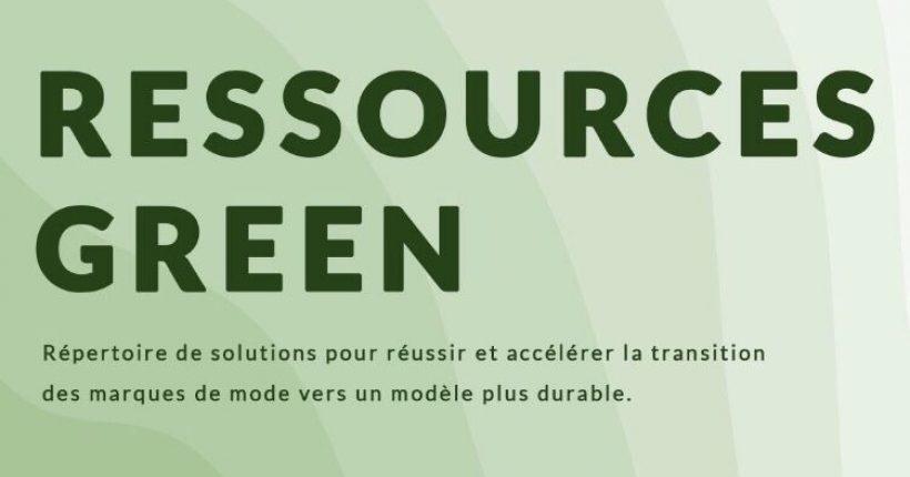 plateforme ressources green