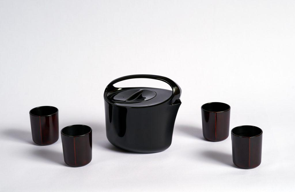 Service à thé de Nicolas Pinon © Nicolas Brulez