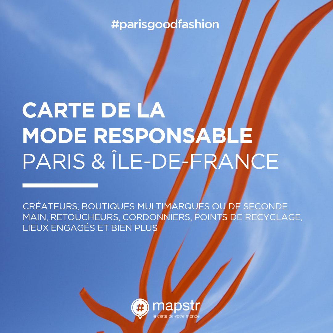 La carte de la mode responsable de Paris Good Fashion étend son territoire !