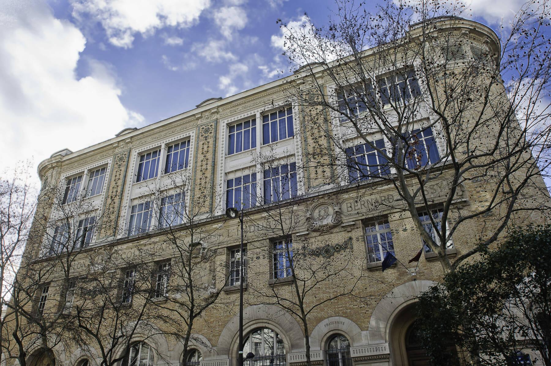 Façade de l'école Duperré (1)