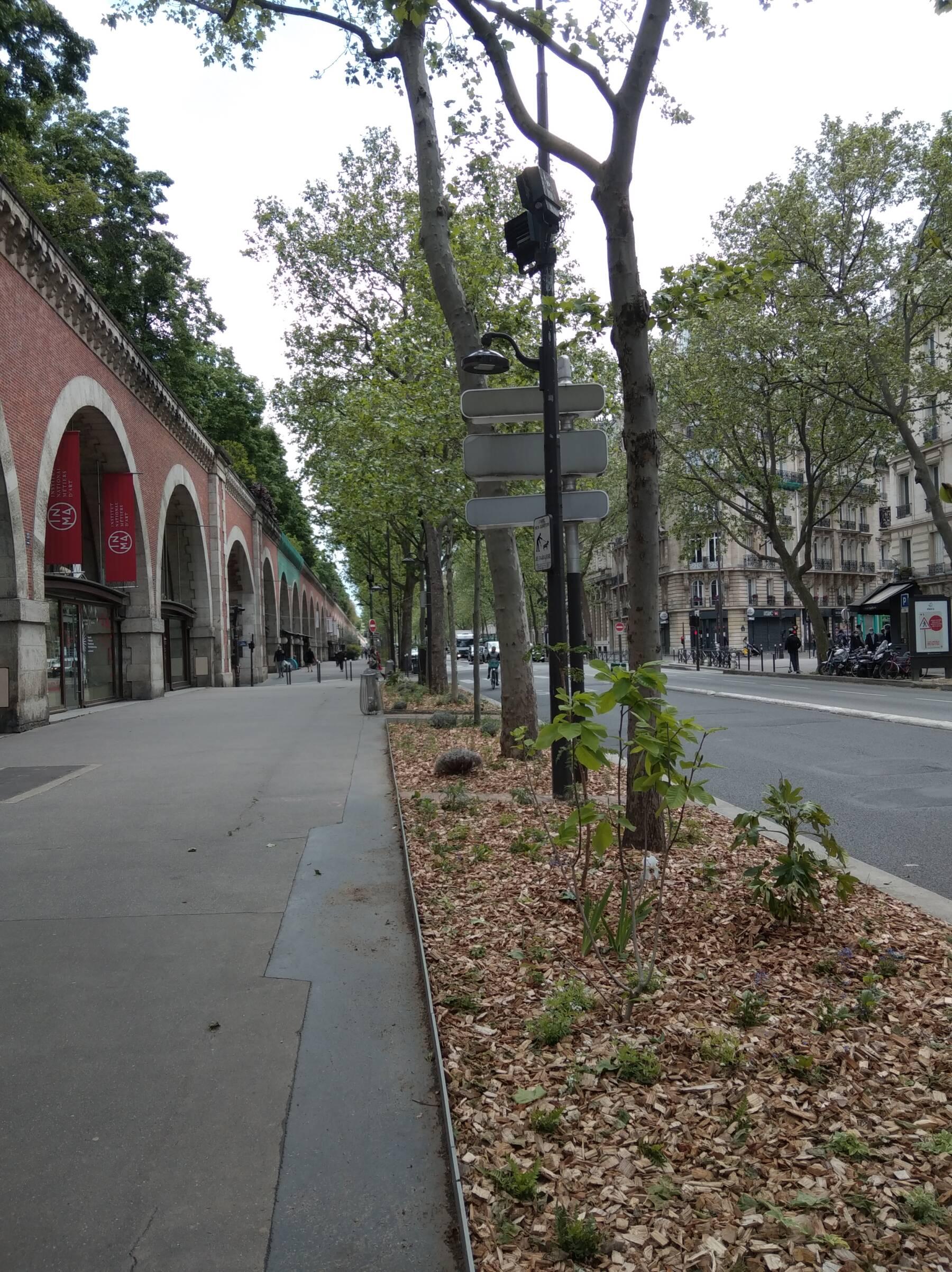 Aménagement végétalisé du Viaduc des Arts
