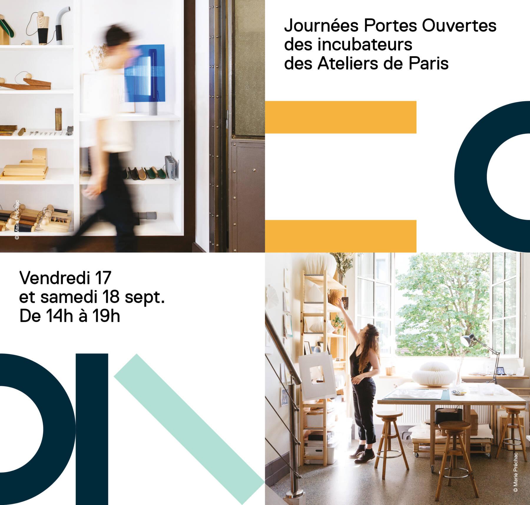 Journées portes ouvertes des incubateurs des Ateliers de Paris