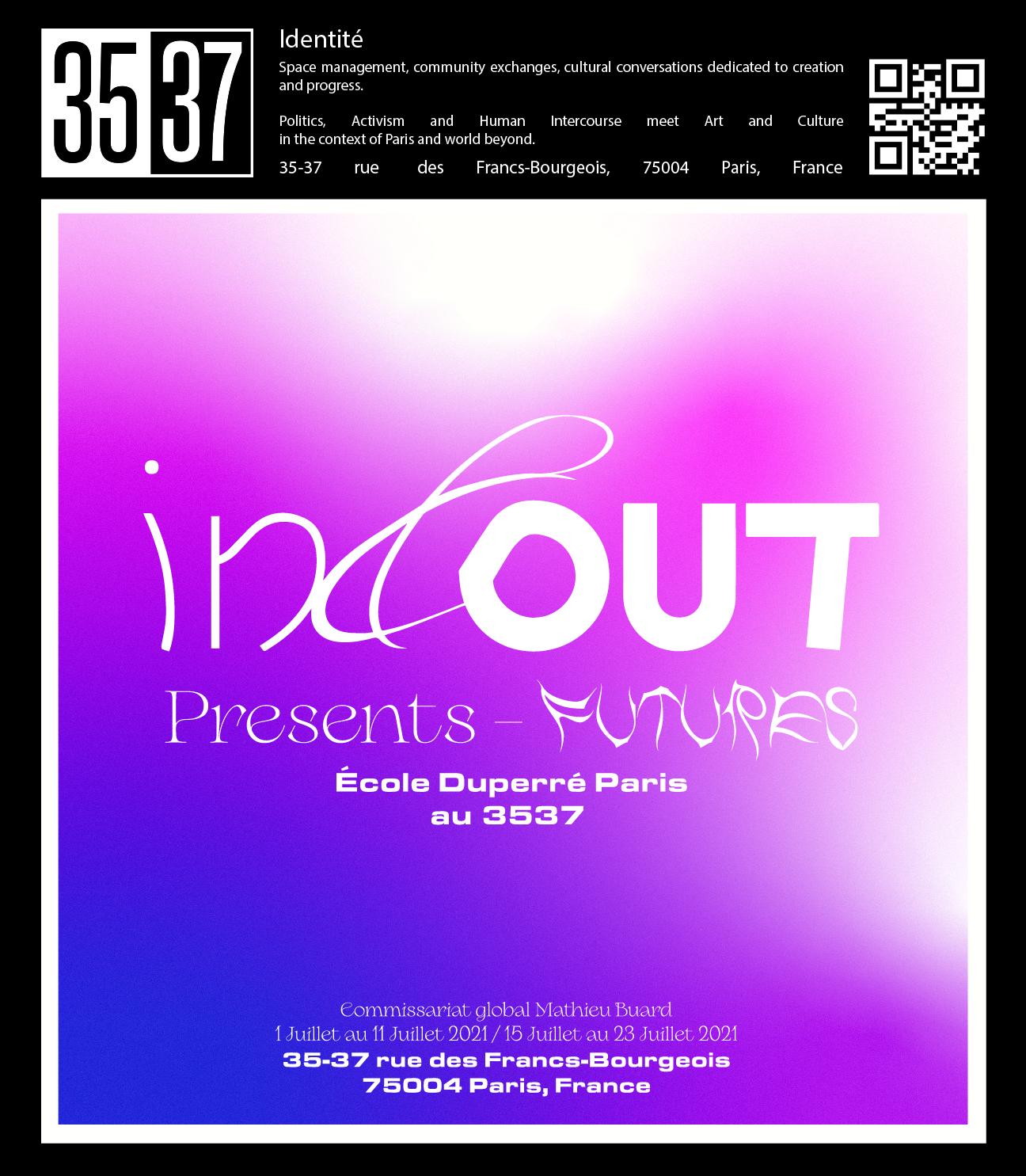 In & Out - Presents - Futures, l'École Duperré Paris au 3537