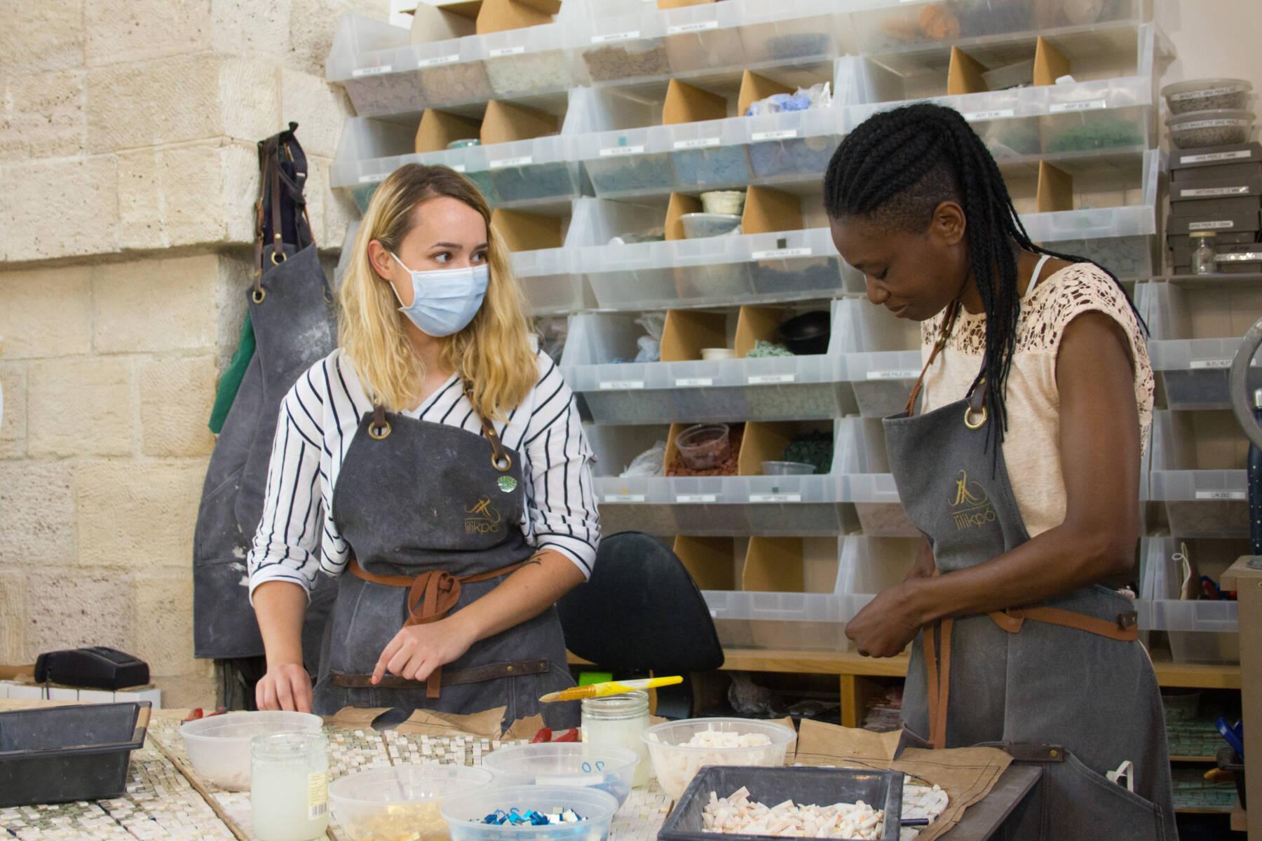 Atelier lilikpó, © Marjolaine Costé
