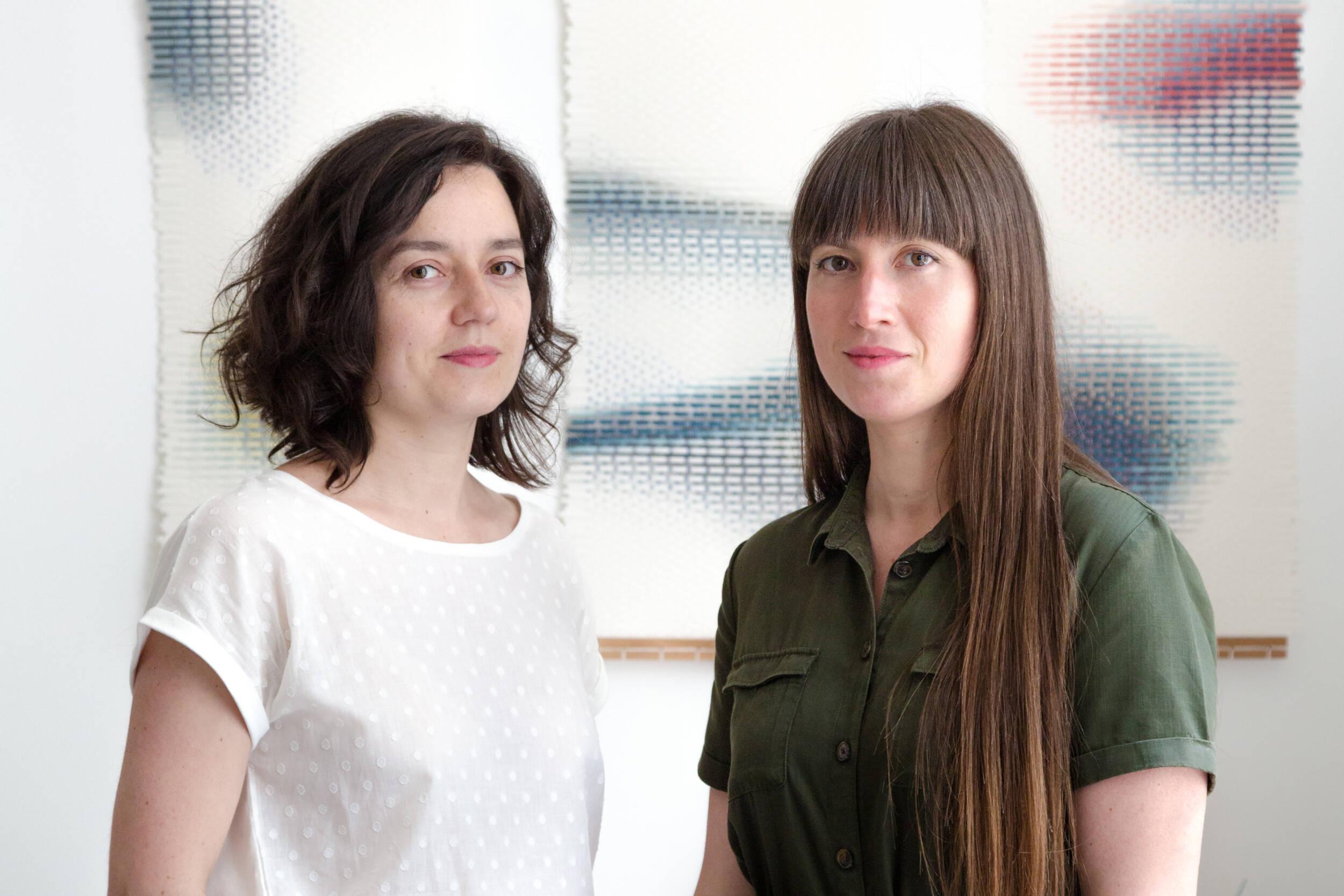 Portrait de Lily Alcaraz et Léa Berlier © Florent Mulot
